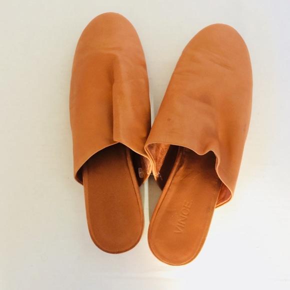 Vince Danna Siviglia Calf Leather Mules